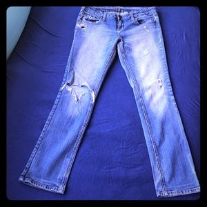 Zco Distressed Jeans Size 11